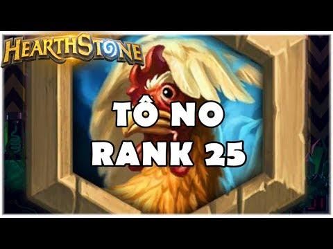 HEARTHSTONE - TÔ NO RANK 25! (WILD EVEN SHAMAN)