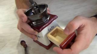 Ручна механічна кофемолка
