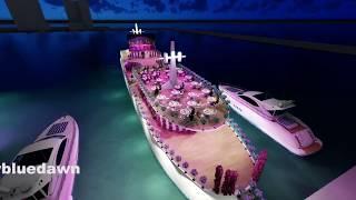 Now In Lebanon WEDDING luxury  Blue Dawn mega yacht