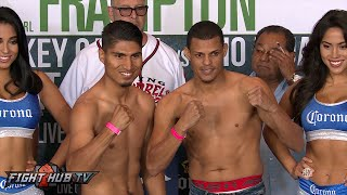 Mikey Garcia vs. Elio Rojas / Paulie Malignaggi vs. Gabriel Bracero Weigh in & Face Off video