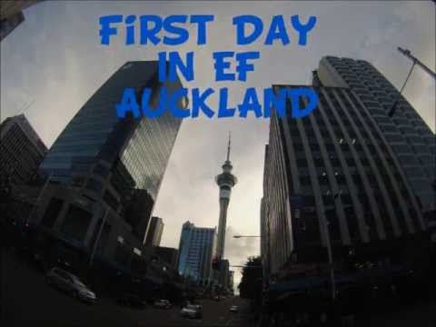 EF Auckland First day