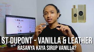 ST Dupont - Vanilla & leat…