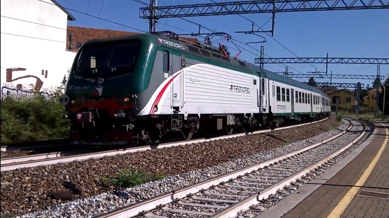 Treni a monza sobborghi e464 197 6 mdvc trenord 06 09 - Trenord porta garibaldi ...