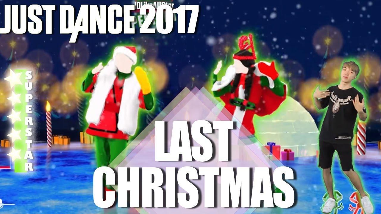 last christmas just dance