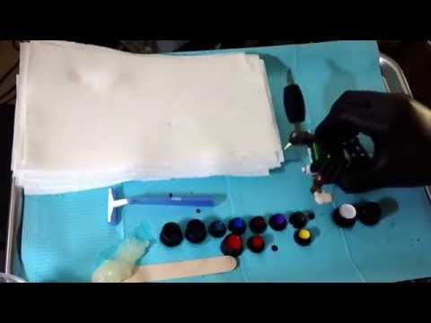 How To Tattoo: How To Set Up A Tattoo Station
