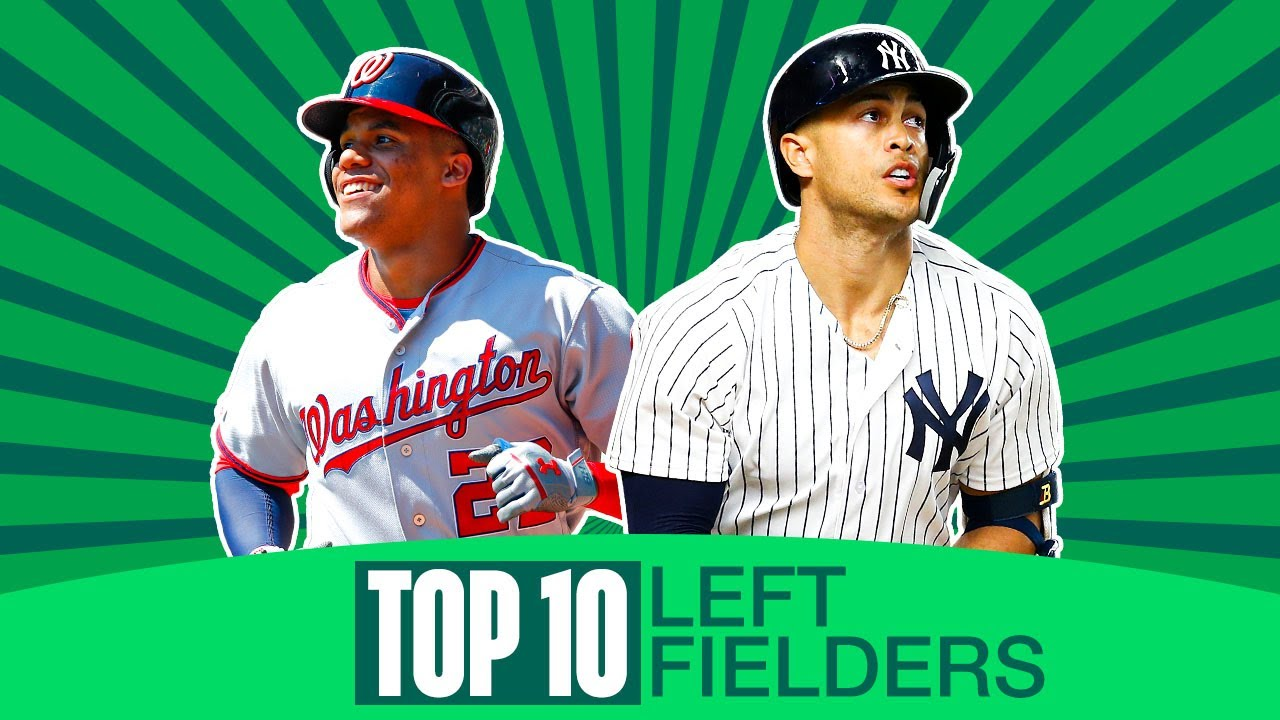 Top 10 MLB Left Fielders for 2020