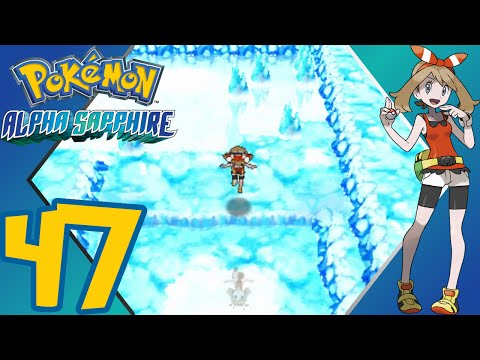 Pokémon Alpha Sapphire - Episode 47 - Shoal Cave (Low & High Tide) - Gameplay Walkthrough