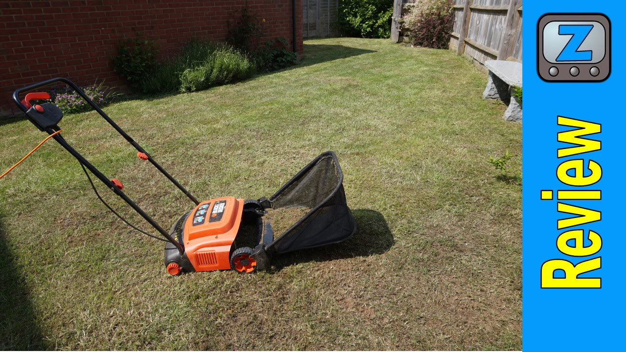 Fonkelnieuw Black and Decker GD300 Electric Rake and Scarifier Review - YouTube QE-68