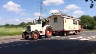 Hanomag R40 Bel Air Schaustellerwagen Zirkuswagen on road