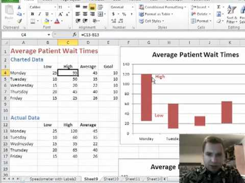 how to create a floating row in excel
