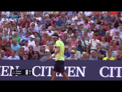 Mayer beats Mayer in Hamburg final | German Open 2017 Day 7 Highlights