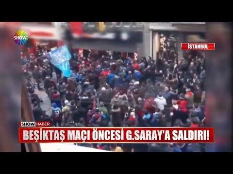 Beşiktaş Maçı öncesi G.Saray'a Saldırı!