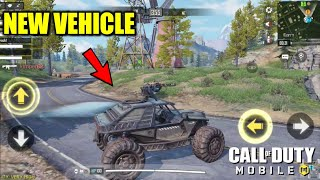 *NEW* Vehicle in COD Mobile Battle Royale Update 1.0.6 Android Gameplay