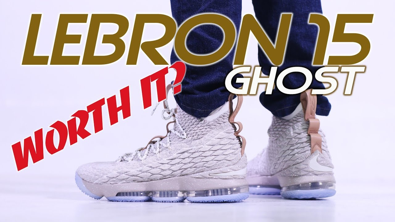 fe7e314ab17 LEBRON 15 GHOST ! UNBOXING   FIRST IMPRESSIONS - YouTube