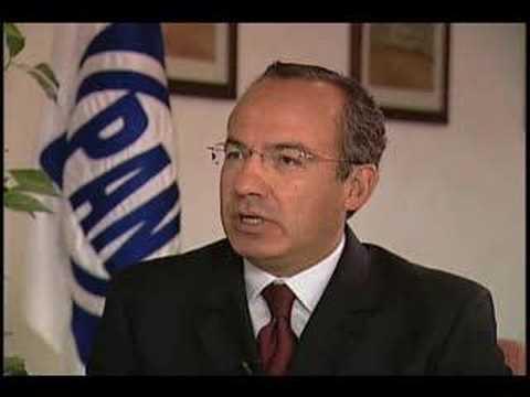 Interview with Felipe Calderon