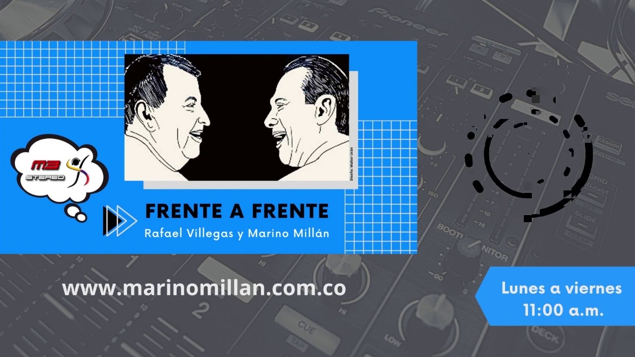 Frente a Frente - Marino Millán y Rafael Villegas - Agosto 3 de 2020