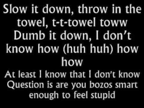 Eminem - Berzerk (Lyrics On Screen)