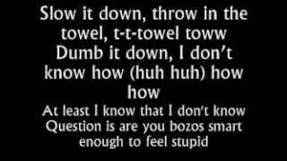Eminem - Berzerk (Lyrics On Screen)