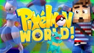 "PIXELMON WORLD! #1 - ""PVP ALREADY?"" (Minecraft Pokemon Mod)"