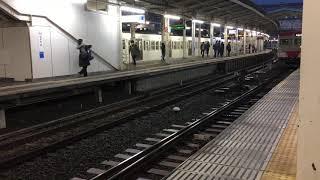 【西武多摩湖線】朝の萩山駅より発車する新101系赤電