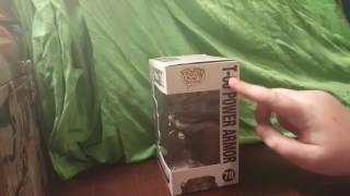 UNBOXING THE T-60 POWER ARMOR (from pop! Games)
