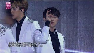 【TVPP】EXO - Growl (CHN Ver.), 엑소 - 으르렁 (중국어 Ver.) @ Korean Music Wave in Beijing Live