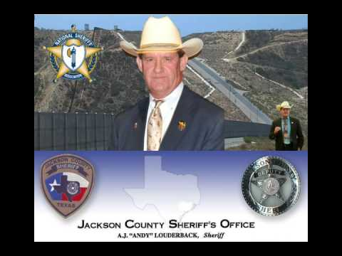 Sheriff A J  Louderback of Jackson County, Texas Speaks About PEP