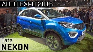 Tata Nexon :: 2016 Auto Expo WalkAround video :: ZigWheels India
