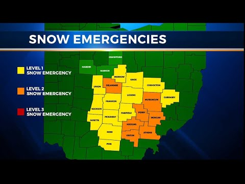 Snow Causes School Closings And County Snow Emergencies