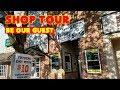 Screen Printing: Shop Tour