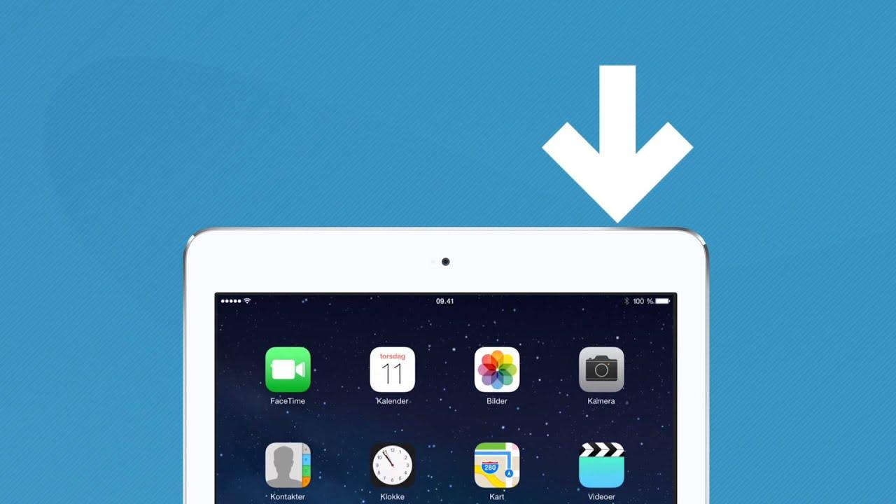 kart ipad norge Hvordan ta skjermbilde med iPad?   YouTube kart ipad norge
