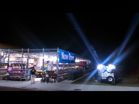walmart search lights set off ufo panic in nc nbc youtube