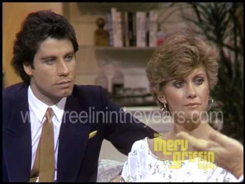 John Travolta & Olivia Newton John- Interview- Grease (Merv Griffin Show 1981)