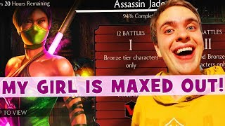 MKX Mobile. Assassin Jade Challenge Review #4. THIS CHALLENGE IS EASY 😅 (It is NOT)