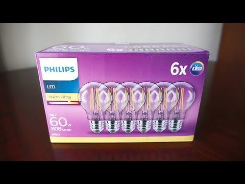 LED Vintage Philips Classic E27 7W (60W) 806 Lm A++