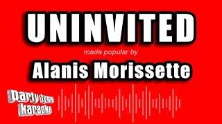 Alanis morissette - uninvited (karaoke version)