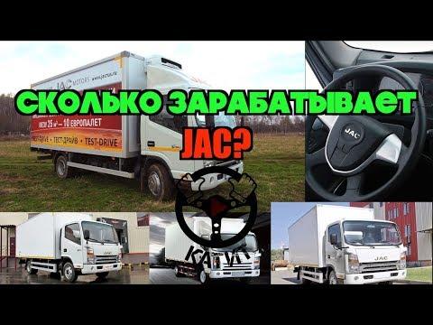 Сколько заработал грузовик JAC N75 за месяц? Бизнес на JAC!