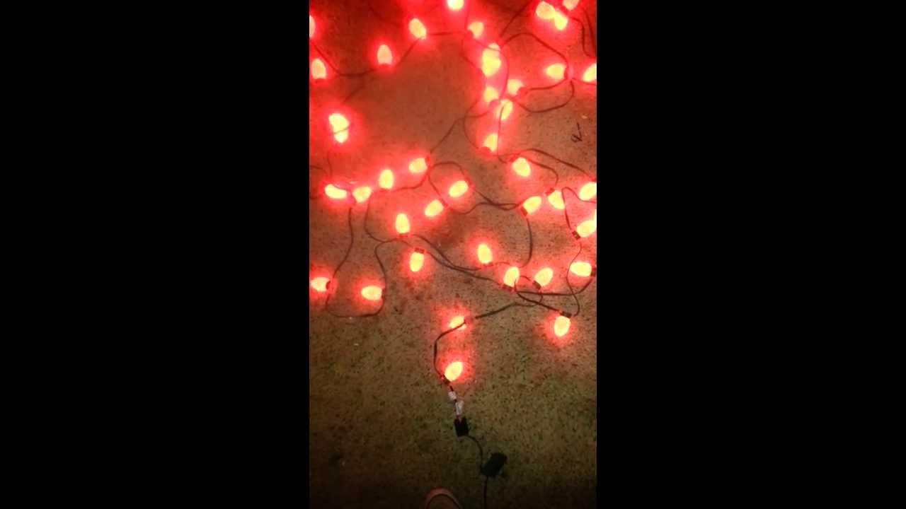 Ge Led Color Changing Christmas Lights