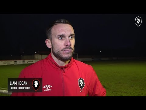 Brackley Town 2-1 Salford City - Liam Hogan post-match interview