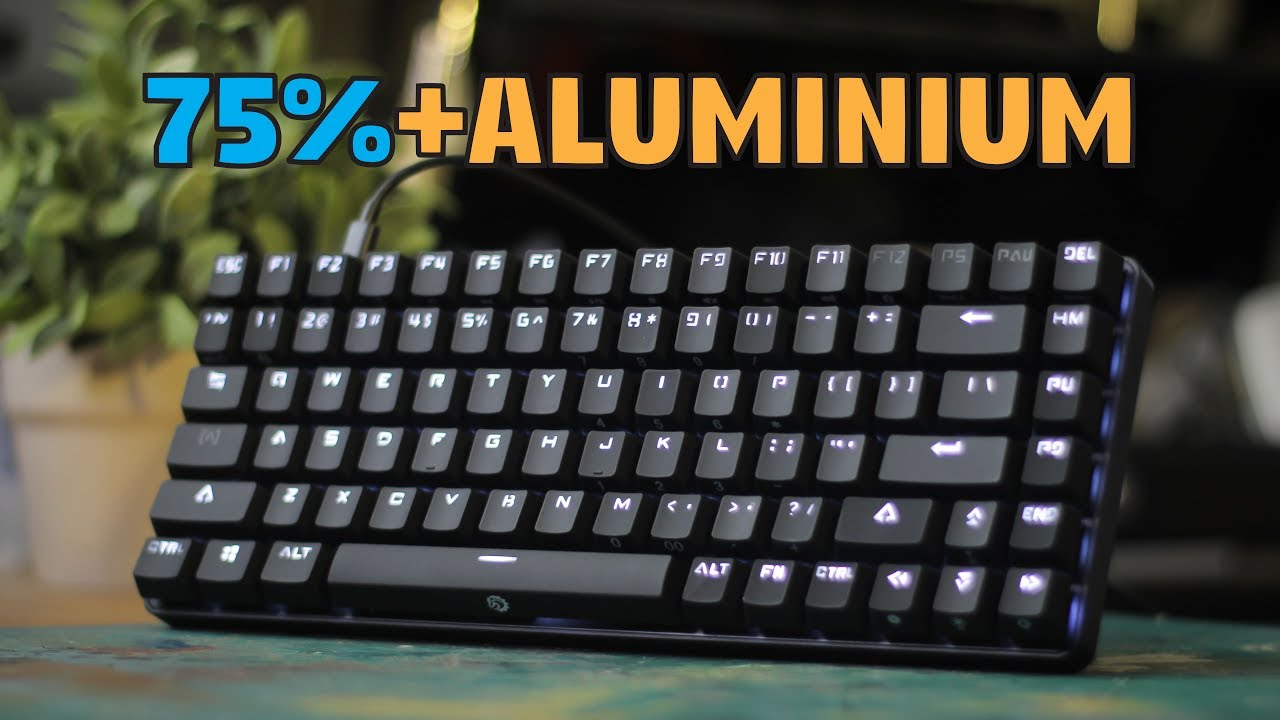 drevo excalibur 75 aluminium mechanical keyboard unboxing