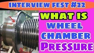 Wheel chamber pressure in steam turbine ?  curtis wheel chamber