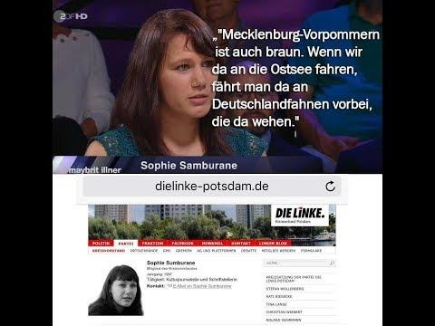 Die ganz normale Zufallsbürgerin und die Deutschlandfähnchen? 30.08.2018 - Bananenrepublik