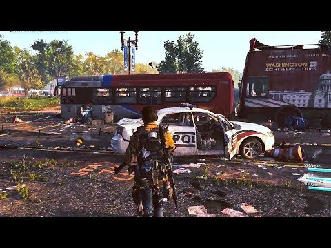 THE DIVISION 2 Gameplay Demo (E3 2018)