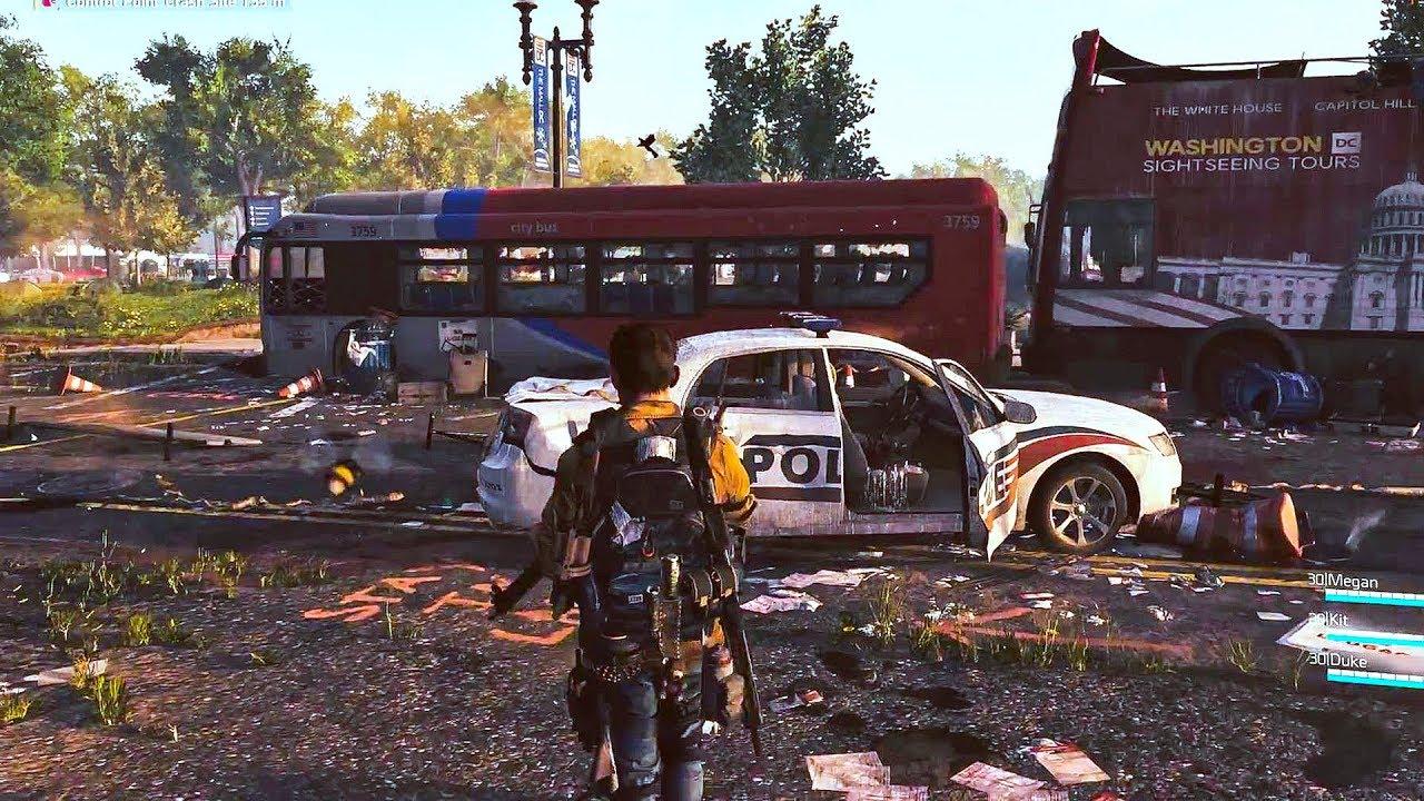 نتيجة بحث الصور عن the division 2 gameplay