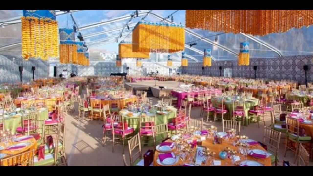 Madurai Decorators Yellow And Orange Theme Wedding Decorations Youtube