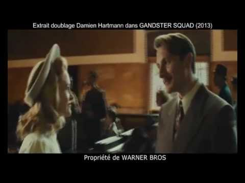 Vidéo Doublages Cinéma - DAMIEN HARTMANN