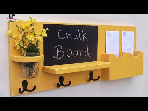 17 cool and creative ways to make key holder ideas for home decor | Learning Process