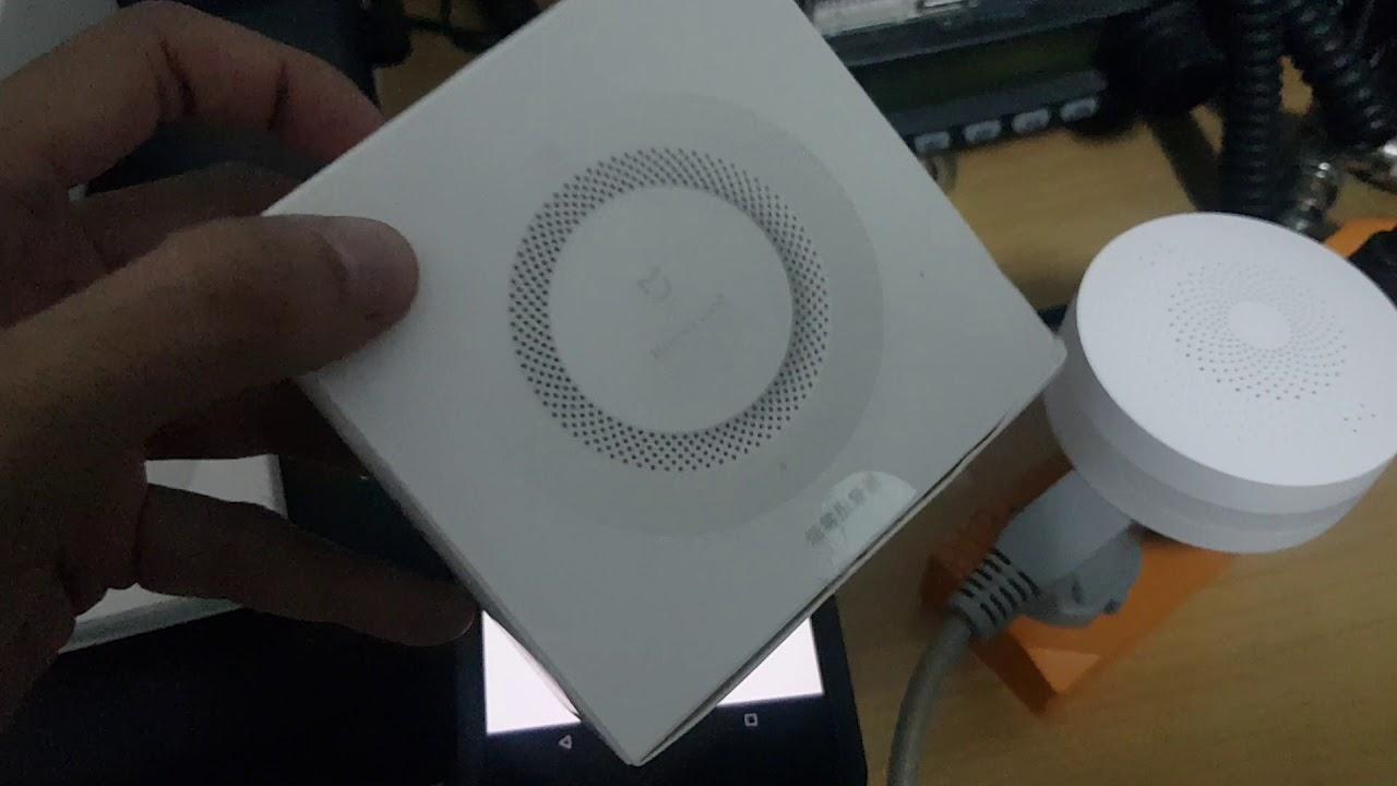 รีวิวการเชื่อมต่อ Xiaomi Multifunctional Gateway 2 & Xiaomi Mi Smart  Temperature and Humidity Sensor