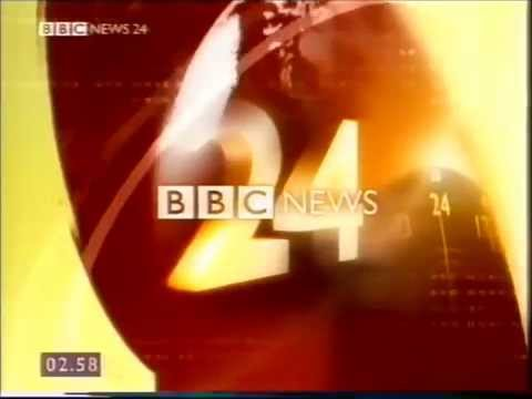 BBC News 24 Hour News Channel
