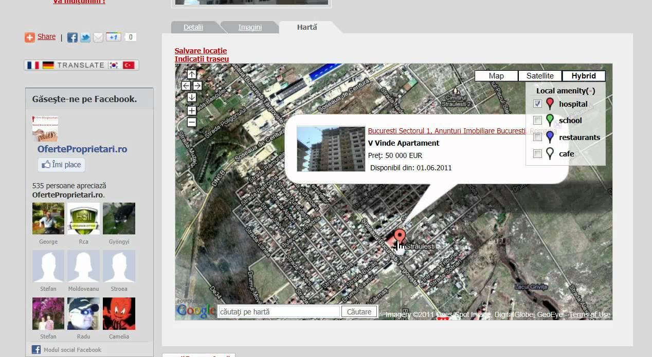 Tutorial Localizare Harta Satelit Youtube